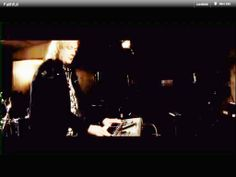 Geoff Downes, one of the best keyboard player in the rock history ( BUGGLES, ASIA, YES) with his Chronowear biker blouson Daytona - from video : ASIA FAITHFUL from XXX Album