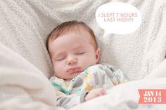 Documenting Baby Milestones » Casa de Lewis