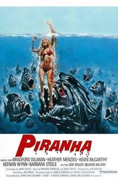 Wanted Post: Original 1978 Piranha Movie Poster | FyndIt