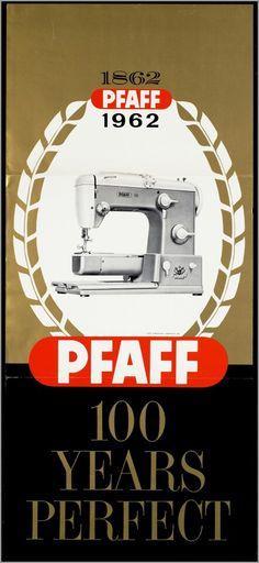 Voor Pfaff naaimachines 1962