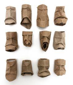 Yuken Teruya, made from toilet tissue rolls
