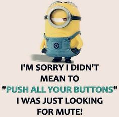 Nice Funny quotes: Best 45 Very Funny minions Quotes Check more at pinit.top/… Nice Funny quotes: Best 45 Very Funny minions Quotes Check more at pinit. Minion Humour, Funny Minion Memes, Minions Quotes, Funny Jokes, Funny Sarcastic, Minion Sayings, Sarcastic Quotes, Funny Minion Pictures, Funny Sayings
