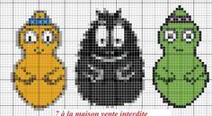 Cross Stitch Baby, Cross Stitch Patterns, Bead Crafts, Fun Crafts, Art Hama, Cute Stitch, Stitch Cartoon, Perler Beads, Beaded Embroidery