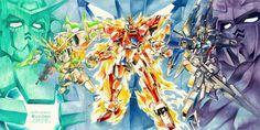 GUNDAM GUY: Gundam Build Fighters Try - Fan-Art Poster Image