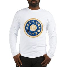 Royal Lion Long Sleeve Tshirt International Peace Symbol Religions  White XL ** To view further for this item, visit the image link.