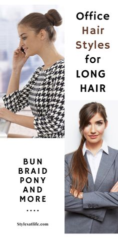 If you do sport a long hair, I think it's time you check out this awesome hairstyle tricks for your busy office mornings. #officehaircuts #longhairstyles