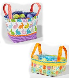 Fabric Easter Baskets Free Pattern