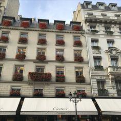 Rue de la Paix and famous Cartier's facade