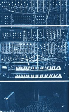thesixthear:  Wendy Carloss Moog Modular synthesizer.
