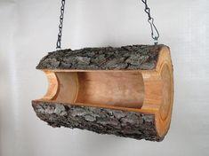 Rustic Bird Feeders, Large Bird Feeders, Unique Bird Feeders, Wood Bird Feeder, Hanging Bird Feeders, Bird House Feeder, Stone Chimney, Small Birds, Autumn Trees