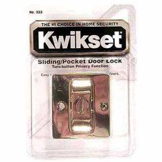 Kwikset 93330-017 Pocket Door Locking Pull, Multicolor