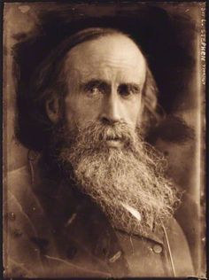 Sir Leslie Stephen, writer, editor and father of Virginia Woolf, 1902.