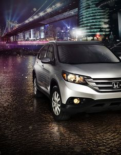 Honda CRV Digital Campaign by Devin Schoeffler, via Behance