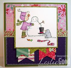Mister Penguin Helps Ramona, image Stamping Bella