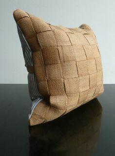 #Cushion wood line texture