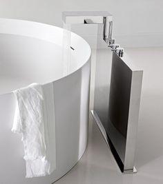 c o n c e r t o by Claudio Nardi www. Small Bathroom With Shower, Bathroom Spa, Shower Tub, Bathroom Ideas, Modern Bathroom Design, Bath Design, Minimal Bathroom, Bad Inspiration, Bathroom Inspiration