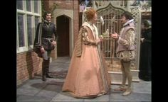 "Elizabeth's Pink Surcoat from ""Elizabeth R"""