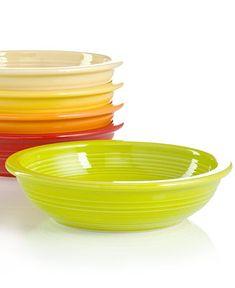 Fiesta Individual Pasta Bowl Collection - Dinnerware - Dining & Entertaining - Macy's