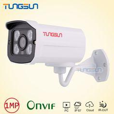 IP Camera 720P 960P Security Surveillance CCTV 4* IR Array LED Aluminum Bullet Metal Waterproof Outdoor Onvif camera ip WebCam