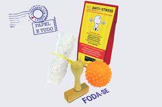FODA-SE! Kit Anti Stress - Papel e Tudo