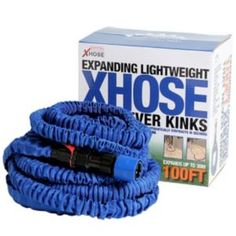 XHose Expandable Hose (L)30.48m Xhose Expandable Hose (L)30.48m.XHose 30.48m hose great for watering in the garden and can be easily stored away. (Barcode EAN=5060191461092) http://www.MightGet.com/january-2017-13/xhose-expandable-hose-l-30-48m.asp