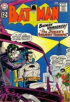 1962-06 - Batman Volume 1 - #148 - The Joker's Greatest Triumph #BatmanComics #DCComics #BatmanFan #Batman #ComicBooks