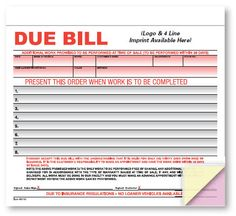 Due Bill Avoid Confusion And Costly Misunderstandings With A