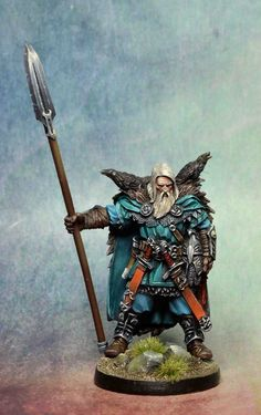 The Raven Clan Warrior Of Blood Rage Gets Painted Up