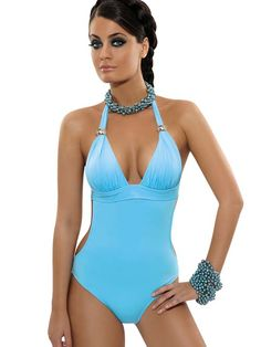 Rebecca 2014 Sky Love One piece swimwear monokini