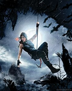 """forevertombraider: """" Descent Into Hell - Shadow of the Tomb Raider Fanart by FearEffectInferno """" Lara Croft: Tomb Raider, Tomb Raider Video Game, Lara Croft Cosplay, Lara Croft Tomb, Lara Croft Disfraz, Gamify Your Life, Lara Croft Angelina Jolie, Laura Croft, Rise Of The Tomb"""