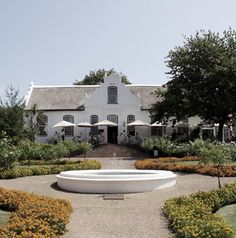 Neethlingshof Wine Estate - our wedding venue Open Air Restaurant, Provinces Of South Africa, South African Wine, Cape Dutch, Dutch House, Cape Town South Africa, The Gables, Wonderful Places, Homesteading