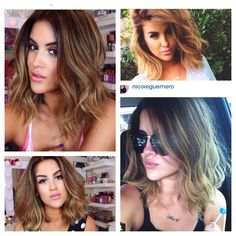 Nicole Guerriero new hair  totally Obsessed - deff choppin my hair off now, she looks smokinnn