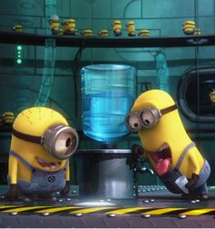 Minions. My favorite part of the entire movie