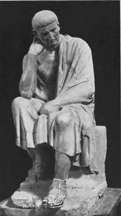 Aristippus of Cyrene, c. 435 – c. 356 BC,  was the founder of the Cyrenaic school of Philosophy (Hedonism). He was a pupil of Socrates, but adopted a very different philosophical outlook, teaching that the goal of life was to seek pleasure by adapting circumstances to oneself and by maintaining proper control over both adversity and prosperity.