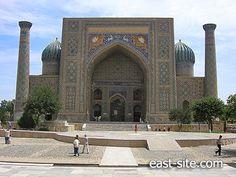 Sher Dor madrasah facade