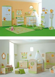 pooh.............Michaels bedroom as a baby