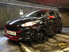 Fiesta Zetec S Black Edition. Its 1.0 EcoBoost engine is tuned to 138bhp.
