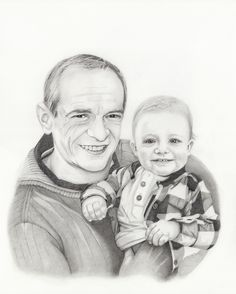 Commissioned art, pencildrawing, 40 x 50 cm
