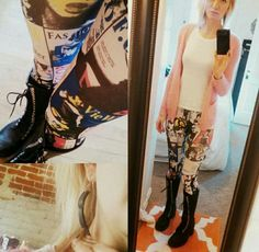 #doyoucarewhatiwear #sdkstyle #clothes #fashion #leggings #laceup boots
