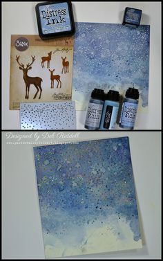 Hello everyone, hope this finds you all well and ready for the holidays, scary how quickly the days are flying by! I have a mixed media Chr. Card Making Tutorials, Card Making Techniques, Distress Ink Techniques, Tim Holtz Stamps, Christmas Cards, Christmas Decorations, Christmas Mix, Card Tricks, Winter Cards