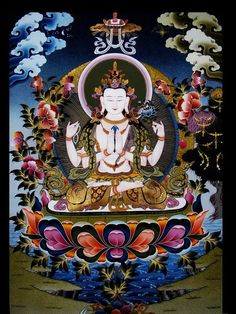 Avalokitesvara/Chenrezig the Great Bodhisattva of Compassion