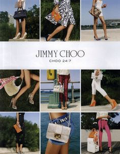Jimmy Choo Choo 24:7 Ad Campaign Spring/Summer 2012 Shot #1