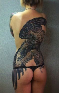 Wings-Of-The-Eagle-Tattoo-on-Back