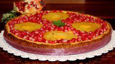 ..............Gustosa Passione...!!: Crostata al cocco con crema cotta all'ananas e mel...