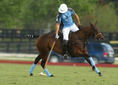 Nic Roldan at the Santa Rita 2014 tournament in Wellington - | Polo Pony