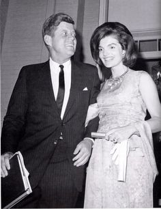 Jacqueline and President John F. Kennedy
