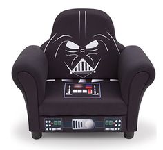 Delta Children Star Wars Deluxe Upholstered Chair, Darth Vader
