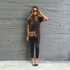 The 41 Most Instagrammed It Items Of 2015 #refinery29  http://www.refinery29.com/most-popular-instagram-items-2015#slide-21  Aquazzura FlatsA blogger fave, these lace-up flats completed every off-duty outfit. Major fast-fashion retailers knocked them off left and right, too....