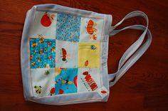 little bug tote for grandsons beanie babies! Sewn by Donna Adams Conklin