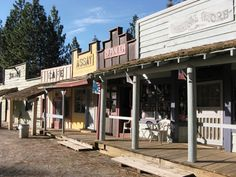 Old west - typical main street image
